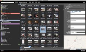 screenshot noefinder per gestire l'archivio fotografico